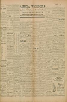 """Ajencja Wschodnia. Codzienne Wiadomości Ekonomiczne = Agence Télégraphique de l'Est = Telegraphenagentur """"Der Ostdienst"""" = Eastern Telegraphic Agency. R.10, nr 5 (8 stycznia 1930)"""