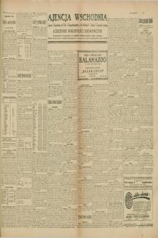 """Ajencja Wschodnia. Codzienne Wiadomości Ekonomiczne = Agence Télégraphique de l'Est = Telegraphenagentur """"Der Ostdienst"""" = Eastern Telegraphic Agency. R.10, nr 8 (11 stycznia 1930)"""