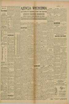 """Ajencja Wschodnia. Codzienne Wiadomości Ekonomiczne = Agence Télégraphique de l'Est = Telegraphenagentur """"Der Ostdienst"""" = Eastern Telegraphic Agency. R.10, nr 13 (17 stycznia 1930)"""