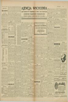 """Ajencja Wschodnia. Codzienne Wiadomości Ekonomiczne = Agence Télégraphique de l'Est = Telegraphenagentur """"Der Ostdienst"""" = Eastern Telegraphic Agency. R.10, nr 14 (18 stycznia 1930)"""