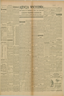 """Ajencja Wschodnia. Codzienne Wiadomości Ekonomiczne = Agence Télégraphique de l'Est = Telegraphenagentur """"Der Ostdienst"""" = Eastern Telegraphic Agency. R.10, nr 17 (22 stycznia 1930)"""