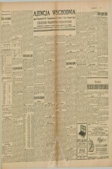 """Ajencja Wschodnia. Codzienne Wiadomości Ekonomiczne = Agence Télégraphique de l'Est = Telegraphenagentur """"Der Ostdienst"""" = Eastern Telegraphic Agency. R.10, nr 21 (26 i 27 stycznia 1930)"""