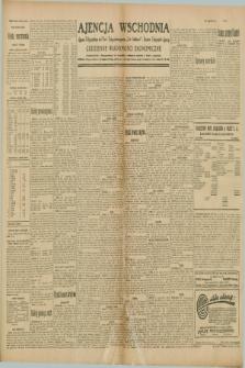 """Ajencja Wschodnia. Codzienne Wiadomości Ekonomiczne = Agence Télégraphique de l'Est = Telegraphenagentur """"Der Ostdienst"""" = Eastern Telegraphic Agency. R.10, nr 22 (28 stycznia 1930)"""