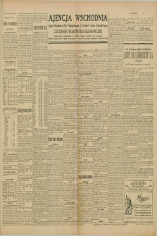"""Ajencja Wschodnia. Codzienne Wiadomości Ekonomiczne = Agence Télégraphique de l'Est = Telegraphenagentur """"Der Ostdienst"""" = Eastern Telegraphic Agency. R.10, nr 25 (31 stycznia 1930)"""