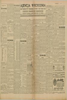 "Ajencja Wschodnia. Codzienne Wiadomości Ekonomiczne = Agence Télégraphique de l'Est = Telegraphenagentur ""Der Ostdienst"" = Eastern Telegraphic Agency. R.10, nr 30 (6 lutego 1930)"
