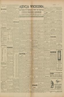 "Ajencja Wschodnia. Codzienne Wiadomości Ekonomiczne = Agence Télégraphique de l'Est = Telegraphenagentur ""Der Ostdienst"" = Eastern Telegraphic Agency. R.10, nr 31 (7 lutego 1930)"