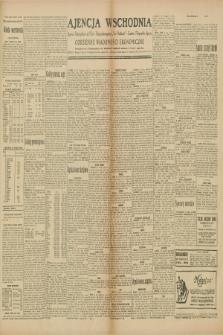 """Ajencja Wschodnia. Codzienne Wiadomości Ekonomiczne = Agence Télégraphique de l'Est = Telegraphenagentur """"Der Ostdienst"""" = Eastern Telegraphic Agency. R.10, nr 33 (9 i 10 lutego 1930)"""