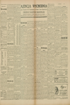 "Ajencja Wschodnia. Codzienne Wiadomości Ekonomiczne = Agence Télégraphique de l'Est = Telegraphenagentur ""Der Ostdienst"" = Eastern Telegraphic Agency. R.10, nr 35 (12 lutego 1930)"