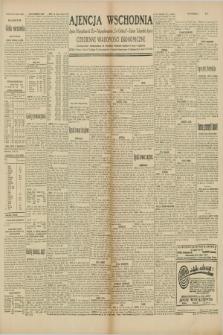 "Ajencja Wschodnia. Codzienne Wiadomości Ekonomiczne = Agence Télégraphique de l'Est = Telegraphenagentur ""Der Ostdienst"" = Eastern Telegraphic Agency. R.10, nr 36 (13 lutego 1930)"