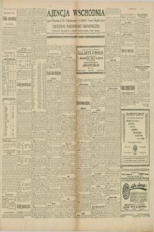 "Ajencja Wschodnia. Codzienne Wiadomości Ekonomiczne = Agence Télégraphique de l'Est = Telegraphenagentur ""Der Ostdienst"" = Eastern Telegraphic Agency. R.10, nr 38 (15 lutego 1930)"