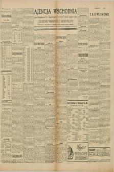 """Ajencja Wschodnia. Codzienne Wiadomości Ekonomiczne = Agence Télégraphique de l'Est = Telegraphenagentur """"Der Ostdienst"""" = Eastern Telegraphic Agency. R.10, nr 39 (16 i 17 lutego 1930)"""