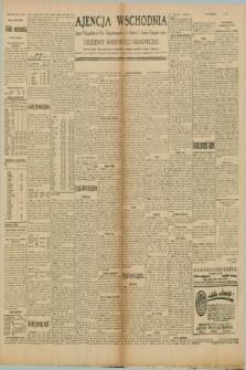 "Ajencja Wschodnia. Codzienne Wiadomości Ekonomiczne = Agence Télégraphique de l'Est = Telegraphenagentur ""Der Ostdienst"" = Eastern Telegraphic Agency. R.10, nr 40 (18 lutego 1930)"