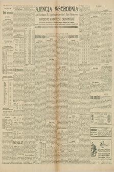 "Ajencja Wschodnia. Codzienne Wiadomości Ekonomiczne = Agence Télégraphique de l'Est = Telegraphenagentur ""Der Ostdienst"" = Eastern Telegraphic Agency. R.10, nr 41 (19 lutego 1930)"
