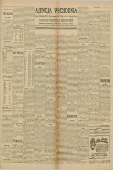 "Ajencja Wschodnia. Codzienne Wiadomości Ekonomiczne = Agence Télégraphique de l'Est = Telegraphenagentur ""Der Ostdienst"" = Eastern Telegraphic Agency. R.10, nr 42 (20 lutego 1930)"