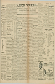 "Ajencja Wschodnia. Codzienne Wiadomości Ekonomiczne = Agence Télégraphique de l'Est = Telegraphenagentur ""Der Ostdienst"" = Eastern Telegraphic Agency. R.10, nr 43 (21 lutego 1930)"