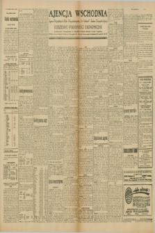 "Ajencja Wschodnia. Codzienne Wiadomości Ekonomiczne = Agence Télégraphique de l'Est = Telegraphenagentur ""Der Ostdienst"" = Eastern Telegraphic Agency. R.10, nr 46 (25 lutego 1930)"
