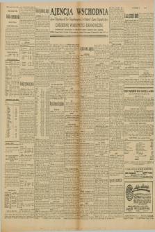"Ajencja Wschodnia. Codzienne Wiadomości Ekonomiczne = Agence Télégraphique de l'Est = Telegraphenagentur ""Der Ostdienst"" = Eastern Telegraphic Agency. R.10, nr 48 (27 lutego 1930)"