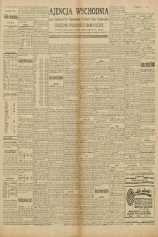 "Ajencja Wschodnia. Codzienne Wiadomości Ekonomiczne = Agence Télégraphique de l'Est = Telegraphenagentur ""Der Ostdienst"" = Eastern Telegraphic Agency. R.10, nr 52 (4 marca 1930)"