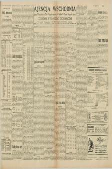 "Ajencja Wschodnia. Codzienne Wiadomości Ekonomiczne = Agence Télégraphique de l'Est = Telegraphenagentur ""Der Ostdienst"" = Eastern Telegraphic Agency. R.10, nr 53 (5 marca 1930)"