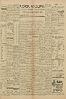"Ajencja Wschodnia. Codzienne Wiadomości Ekonomiczne = Agence Télégraphique de l'Est = Telegraphenagentur ""Der Ostdienst"" = Eastern Telegraphic Agency. R.10, nr 54 (6 marca 1930)"