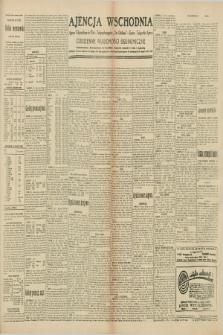 "Ajencja Wschodnia. Codzienne Wiadomości Ekonomiczne = Agence Télégraphique de l'Est = Telegraphenagentur ""Der Ostdienst"" = Eastern Telegraphic Agency. R.10, nr 58 (11 marca 1930)"