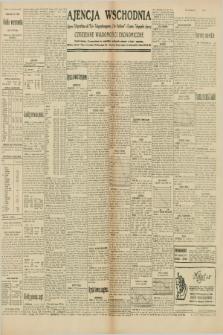 "Ajencja Wschodnia. Codzienne Wiadomości Ekonomiczne = Agence Télégraphique de l'Est = Telegraphenagentur ""Der Ostdienst"" = Eastern Telegraphic Agency. R.10, nr 61 (14 marca 1930)"