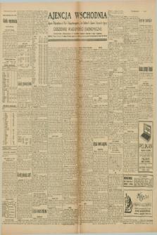 """Ajencja Wschodnia. Codzienne Wiadomości Ekonomiczne = Agence Télégraphique de l'Est = Telegraphenagentur """"Der Ostdienst"""" = Eastern Telegraphic Agency. R.10, nr 63 (16 i 17 marca 1930)"""