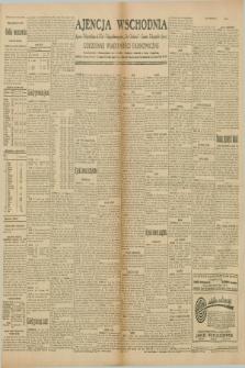"Ajencja Wschodnia. Codzienne Wiadomości Ekonomiczne = Agence Télégraphique de l'Est = Telegraphenagentur ""Der Ostdienst"" = Eastern Telegraphic Agency. R.10, nr 64 (18 marca 1930)"