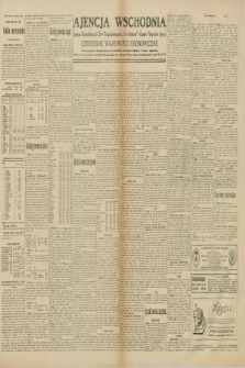 "Ajencja Wschodnia. Codzienne Wiadomości Ekonomiczne = Agence Télégraphique de l'Est = Telegraphenagentur ""Der Ostdienst"" = Eastern Telegraphic Agency. R.10, nr 65 (19 marca 1930)"