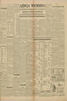 "Ajencja Wschodnia. Codzienne Wiadomości Ekonomiczne = Agence Télégraphique de l'Est = Telegraphenagentur ""Der Ostdienst"" = Eastern Telegraphic Agency. R.10, nr 71 (26 marca 1930)"