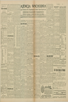 "Ajencja Wschodnia. Codzienne Wiadomości Ekonomiczne = Agence Télégraphique de l'Est = Telegraphenagentur ""Der Ostdienst"" = Eastern Telegraphic Agency. R.10, nr 72 (27 marca 1930)"