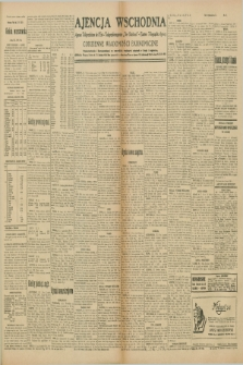 "Ajencja Wschodnia. Codzienne Wiadomości Ekonomiczne = Agence Télégraphique de l'Est = Telegraphenagentur ""Der Ostdienst"" = Eastern Telegraphic Agency. R.10, nr 73 (28 marca 1930)"