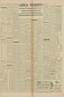 """Ajencja Wschodnia. Codzienne Wiadomości Ekonomiczne = Agence Télégraphique de l'Est = Telegraphenagentur """"Der Ostdienst"""" = Eastern Telegraphic Agency. R.10, nr 75 (30 i 31 marca 1930)"""