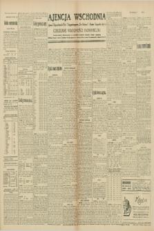 """Ajencja Wschodnia. Codzienne Wiadomości Ekonomiczne = Agence Télégraphique de l'Est = Telegraphenagentur """"Der Ostdienst"""" = Eastern Telegraphic Agency. R.10, nr 79 (4 kwietnia 1930)"""