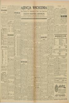 """Ajencja Wschodnia. Codzienne Wiadomości Ekonomiczne = Agence Télégraphique de l'Est = Telegraphenagentur """"Der Ostdienst"""" = Eastern Telegraphic Agency. R.10, nr 82 (8 kwietnia 1930)"""