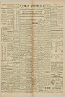 """Ajencja Wschodnia. Codzienne Wiadomości Ekonomiczne = Agence Télégraphique de l'Est = Telegraphenagentur """"Der Ostdienst"""" = Eastern Telegraphic Agency. R.10, nr 84 (10 kwietnia 1930)"""