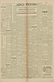 """Ajencja Wschodnia. Codzienne Wiadomości Ekonomiczne = Agence Télégraphique de l'Est = Telegraphenagentur """"Der Ostdienst"""" = Eastern Telegraphic Agency. R.10, nr 86 (12 kwietnia 1930)"""