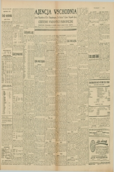 """Ajencja Wschodnia. Codzienne Wiadomości Ekonomiczne = Agence Télégraphique de l'Est = Telegraphenagentur """"Der Ostdienst"""" = Eastern Telegraphic Agency. R.10, nr 88 (15 kwietnia 1930)"""