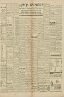 """Ajencja Wschodnia. Codzienne Wiadomości Ekonomiczne = Agence Télégraphique de l'Est = Telegraphenagentur """"Der Ostdienst"""" = Eastern Telegraphic Agency. R.10, nr 89 (16 kwietnia 1930)"""