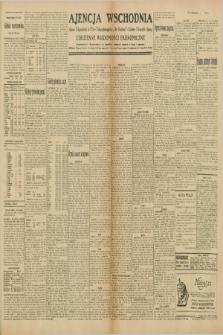 """Ajencja Wschodnia. Codzienne Wiadomości Ekonomiczne = Agence Télégraphique de l'Est = Telegraphenagentur """"Der Ostdienst"""" = Eastern Telegraphic Agency. R.10, nr 93 (24 kwietnia 1930)"""