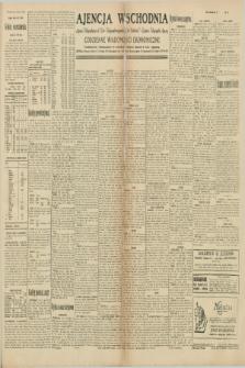 """Ajencja Wschodnia. Codzienne Wiadomości Ekonomiczne = Agence Télégraphique de l'Est = Telegraphenagentur """"Der Ostdienst"""" = Eastern Telegraphic Agency. R.10, nr 95 (26 kwietnia 1930)"""