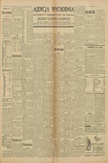 """Ajencja Wschodnia. Codzienne Wiadomości Ekonomiczne = Agence Télégraphique de l'Est = Telegraphenagentur """"Der Ostdienst"""" = Eastern Telegraphic Agency. R.10, nr 97 (29 kwietnia 1930)"""