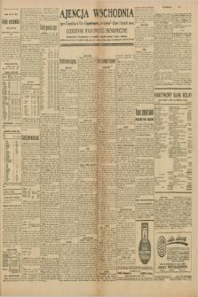 """Ajencja Wschodnia. Codzienne Wiadomości Ekonomiczne = Agence Télégraphique de l'Est = Telegraphenagentur """"Der Ostdienst"""" = Eastern Telegraphic Agency. R.10, nr 98 (30 kwietnia 1930)"""
