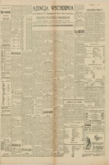 """Ajencja Wschodnia. Codzienne Wiadomości Ekonomiczne = Agence Télégraphique de l'Est = Telegraphenagentur """"Der Ostdienst"""" = Eastern Telegraphic Agency. R.10, nr 99 (1 maja 1930)"""