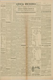"""Ajencja Wschodnia. Codzienne Wiadomości Ekonomiczne = Agence Télégraphique de l'Est = Telegraphenagentur """"Der Ostdienst"""" = Eastern Telegraphic Agency. R.10, nr 106 (10 maja 1930)"""