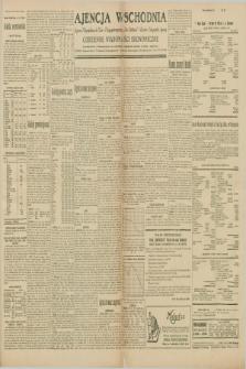 """Ajencja Wschodnia. Codzienne Wiadomości Ekonomiczne = Agence Télégraphique de l'Est = Telegraphenagentur """"Der Ostdienst"""" = Eastern Telegraphic Agency. R.10, nr 107 (11 i 12 maja 1930)"""