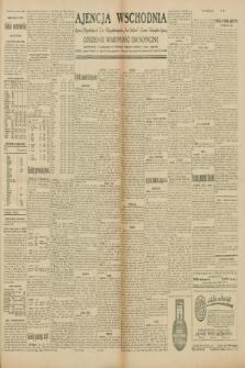 """Ajencja Wschodnia. Codzienne Wiadomości Ekonomiczne = Agence Télégraphique de l'Est = Telegraphenagentur """"Der Ostdienst"""" = Eastern Telegraphic Agency. R.10, nr 108 (13 maja 1930)"""