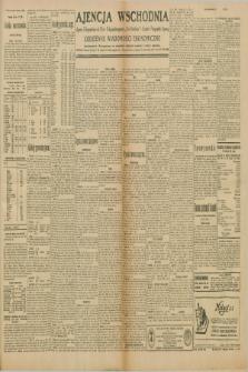 """Ajencja Wschodnia. Codzienne Wiadomości Ekonomiczne = Agence Télégraphique de l'Est = Telegraphenagentur """"Der Ostdienst"""" = Eastern Telegraphic Agency. R.10, nr 109 (14 maja 1930)"""