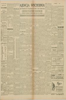 """Ajencja Wschodnia. Codzienne Wiadomości Ekonomiczne = Agence Télégraphique de l'Est = Telegraphenagentur """"Der Ostdienst"""" = Eastern Telegraphic Agency. R.10, nr 111 (16 maja 1930)"""