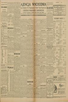 """Ajencja Wschodnia. Codzienne Wiadomości Ekonomiczne = Agence Télégraphique de l'Est = Telegraphenagentur """"Der Ostdienst"""" = Eastern Telegraphic Agency. R.10, nr 119 (25 i 26 maja 1930)"""